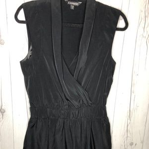 Express Black mini dress.